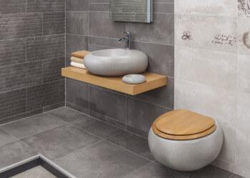 כיור אמבטיה מיוחד שילוב עם עץ